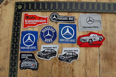 Lot of 10 Car/Truck/Dealership & Related Vintage Sample Patches/Badges #28