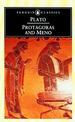 NEW Plato Protagoras & Meno Ancient Greece Philosophy Ethics Virtue The Soul