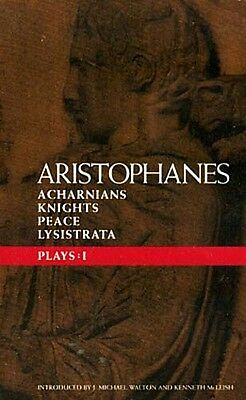 Aristophanes Ancient Greece Comedy Lysistrata Acharnians Knights Peace Sparta