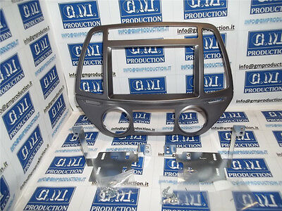 Panel For 2 Din Car Radio Le Sun I20 From 2013 With Air Conditioning Automatic
