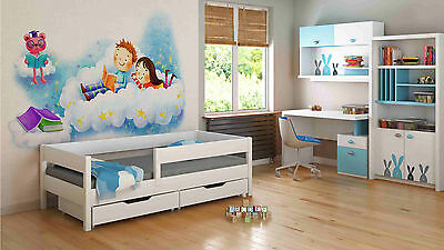 Single Beds For Kids Children Toddler Junior 140x70/160x80/180x80/180x90/200x90