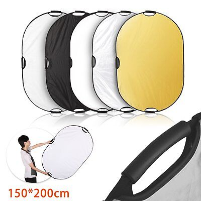 """Selens 150x200cm (60x80"""") PRO 5-in-1 Photo Studio Collapsible Reflector + Case"""