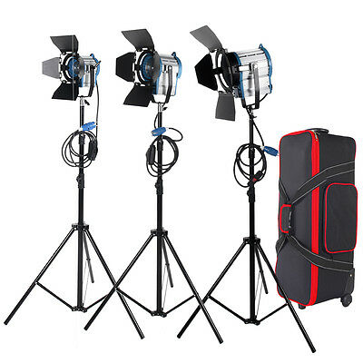 Pro 1950W fresnel light tungsten continuous light for film movie stage studio