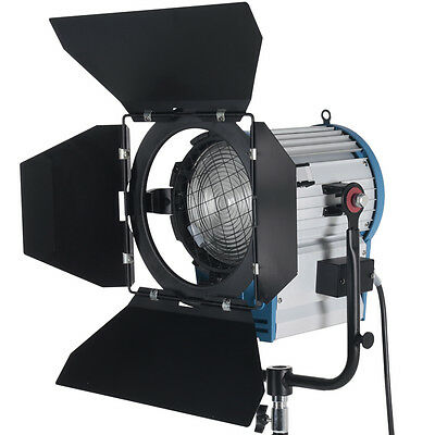 2000W Fresnel Tungsten Spotlight for Studio Video Light+Bulb+Barndor camera
