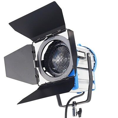1000W Fresnel Tungsten Spotlight Lighting for Studio Video Light+Bulb+Barndor