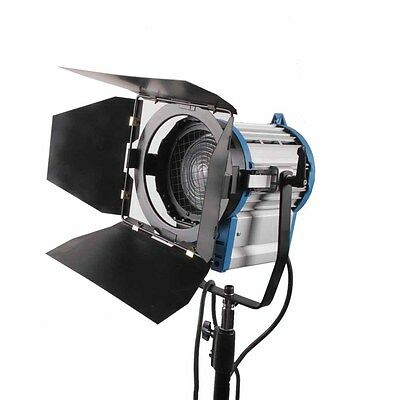 150W Fresnel Tungsten Spotlight Lighting for Studio Video+Bulb+Barndor Camera