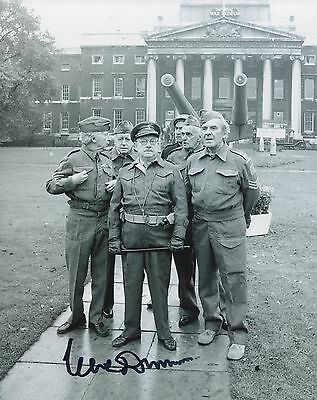 Clive Dunn personally signed 8x10 Dad's Army photo UACC DEALER