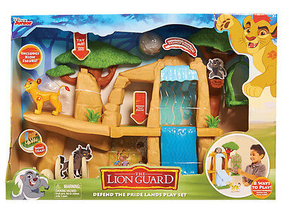Lion Guard Defend the Pride Lands Playset New