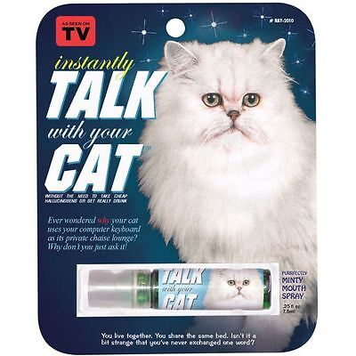 Instantly Talk With Your Cat Novelty Breath Spray Mouth Freshener