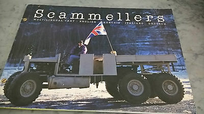 Libro Scammels Scammellers Camion Bellissimo Raro Volume 4 Lingue Trasporti