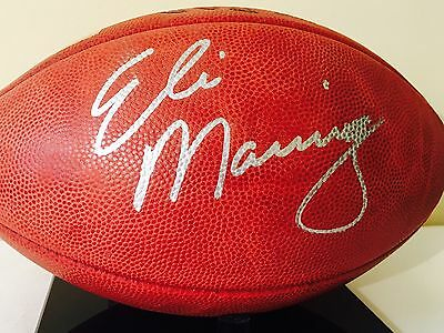 Eli Manning Autographed RARE....OFFICIAL NFL BALL !!