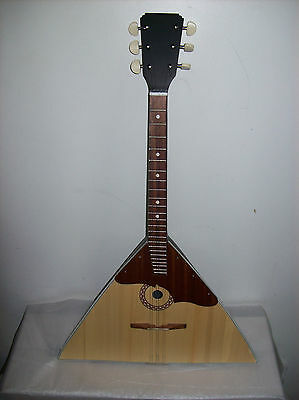 New Original Classic Russian Balalaika Six 6 Strings Prima (made in Ukraine)