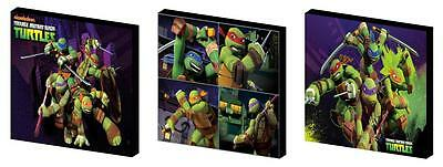 Tnmt- Teenage Mutant Ninja Turtles Canvas Wall Art Plaques/pictures