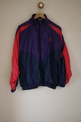 Vintage purple/red shell suit jacket S