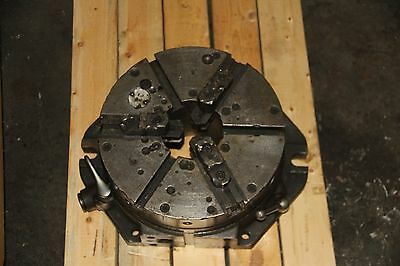 "HARTFORD 12"" Super Spacer Indexer 3 Jaw Chuck Horizontal"