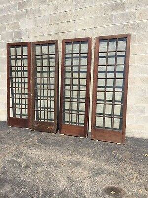 "Cm 21 For Available Price Separate Antique Pine French Door 27"" X 84 X11 5/8"""