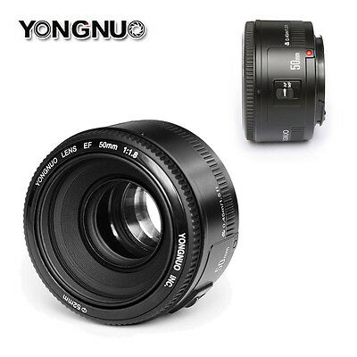 Yongnuo YN 50MM F/1.8 EF AF/MF Large Aperture Auto Focus Lens for Canon EOS DSLR