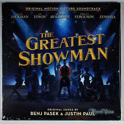 The Greatest Showman Vinyl LP • NEW; Soundtrack, Hugh Jackman, Zac Efron, Barnum