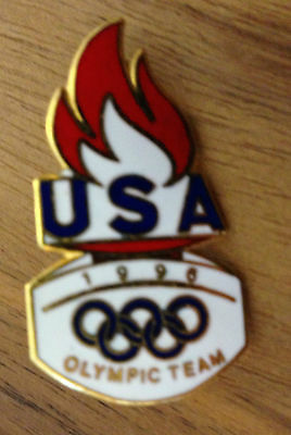 1996 Team USA Olympic Pin Badge issued by United States Olympic Committee USOC