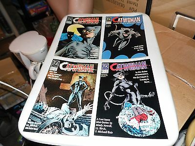 Catwoman #1 #2 #3 and #4 Complete Mini-Series 1988 DC Comics