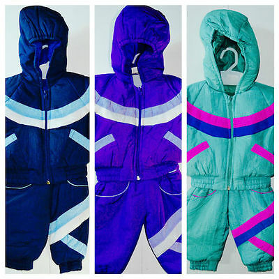 SnowSuit kids Boys And Girls shell Padded All In One Waterproof Winter Suites
