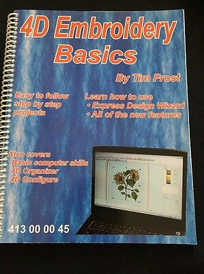 4D Embroidery Basics Tim Frost Book