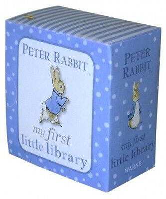 Peter Rabbit My First Little Library PR Baby Childrens Books Beatrix Potter NEW