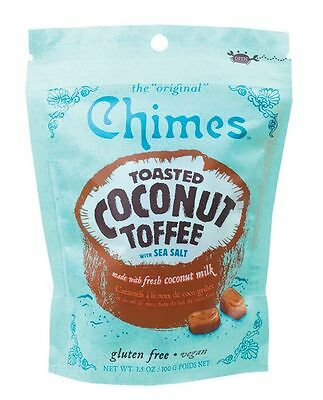 The Original Chimes Toasted Coconut Toffee 100 g x 2 pkts