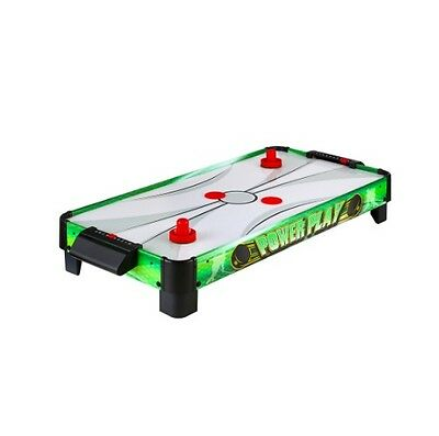 Hathaway Game Tabletop Power Fun Puck Air Hockey Composite Pushers 40 inch Table