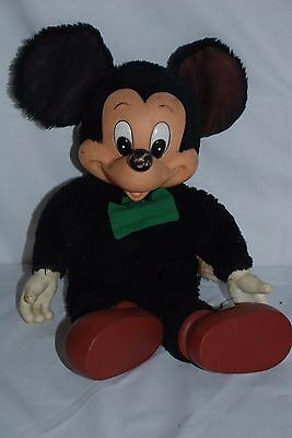 VIntage Applause Mickey Mouse Stuffed Doll- 1950's