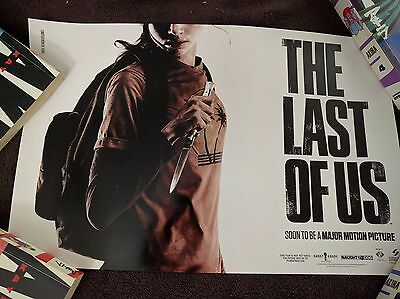 The Last Of Us Poster (LE of 7,000) ULTRA RARE SDCC 2014