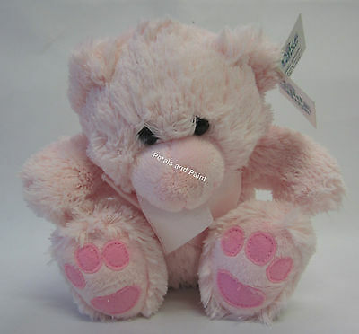 New Pink Teddy Time Baby Bear Roly Junior Soft & Cuddly Great Gift for Baby Girl