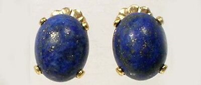 19thC Antique 6½ct Persian Badakhshan Afghanistan Lapis Lazuli Ancient Sumer Ur