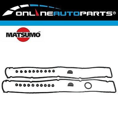 2 Rocker Valve Tappet Cover Gaskets for Skyline R33 R34 6cyl RB25DET 2.5L RB25DE