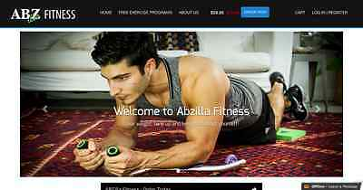 ONLINE ONLINE BUSINESS FOR SALES - FITNESS PRODUCT WITH STOCK Abzilla.com.au