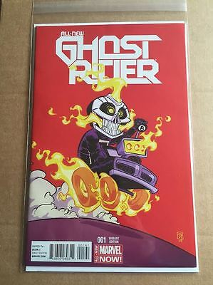 All New GHOST RIDER #1 Skottie Young variant Cover edition Marvel Now Comics