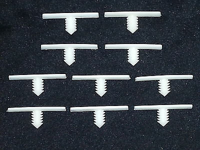 Ford Lincoln Mercury Shelby Wiring Harness Retainer Clips 10pcs