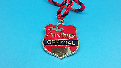 Aintree Horse Racing Officials Badge - No Date