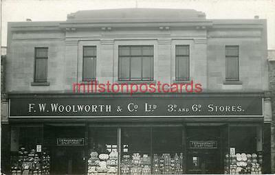 Real Photographic Postcard Of Woolworth's Stores, Seaham Harbour, County Durham