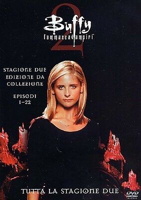 Buffy l'Ammazzavampiri - Stagione 2 (6 DVD) - ITALIANO ORIGINALE SIGILLATO -