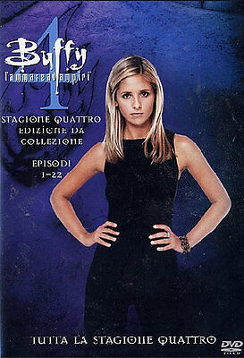 Buffy l'Ammazzavampiri - Stagione 4 (6 DVD) - ITALIANO ORIGINALE SIGILLATO -