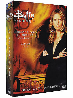 Buffy l'Ammazzavampiri - Stagione 5 (6 DVD) - ITALIANO ORIGINALE SIGILLATO -