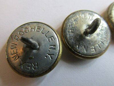 """1942 RARE """"LEND-LEASE"""" RED ARMY BUTTONS !!! Made in USA. WW2. RKKA"""