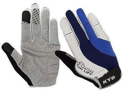 2017 Touch Screen Full Finger Cycling Gloves BMX Cycle Bike Bicycle Foam Padded