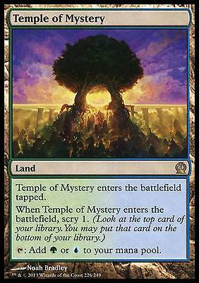 Temple of Mystery - Theros - NM - Magic the Gathering MTG