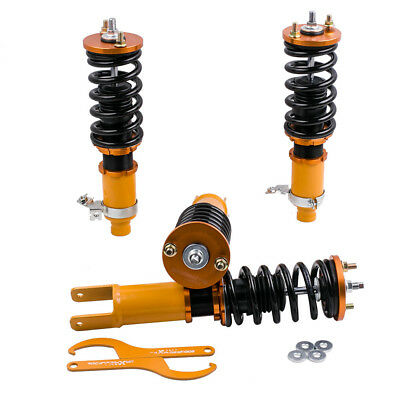 New Coilovers for Honda Acura ED Civic CRX DA Integra Adjustable Height Shocks