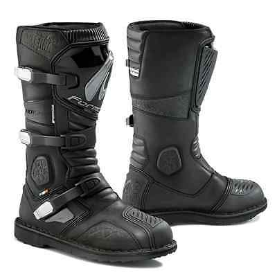 Forma Terra motorcycle boots, mens, black, all sizes, dual-sport, adventure, adv