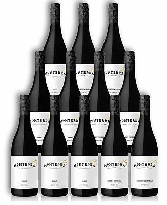 Monterra Red Wine Tasting Pack (12 Bottles)