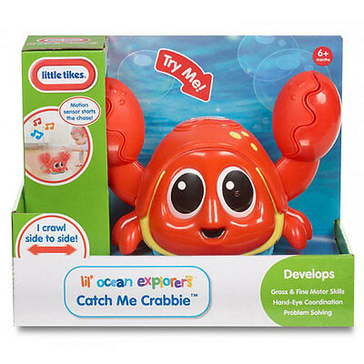 Little Tikes Lil' Ocean Explorers Catch Me Crabbie Musical Baby Toy