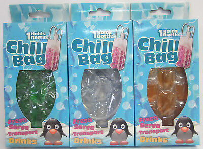 New Bottle Chill Bag Freezable Gel Carrier To Keep Wine Bottles,Beer,Cans Cold